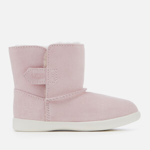 UGG Toddler's Keelan Sparkle Suede Boots - Baby Pink