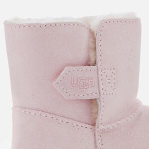 UGG Toddler's Keelan Sparkle Suede Boots - Baby Pink: Image 4