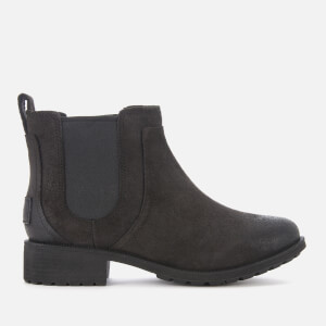 UGG Women's Bonham II Waterproof Leather Chelsea Boots - Black
