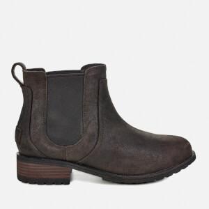 UGG Women's Bonham II Waterproof Leather Chelsea Boots - Black