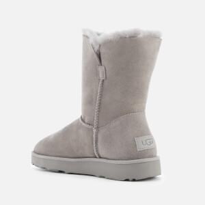 UGG Women's Classic Cuff Short Sheepskin Boots - Seal: Image 3