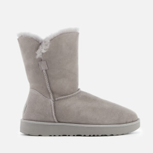 UGG Women's Classic Cuff Short Sheepskin Boots - Seal