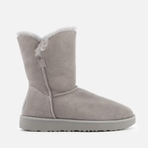 UGG Women's Classic Cuff Short Sheepskin Boots - Seal: Image 1