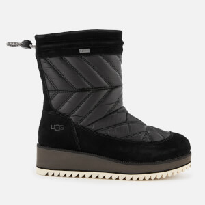 UGG Women's Beck Waterproof Quilted Boots - Black