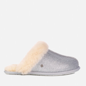UGG Women's Scuffette II Sparkle Slippers - Silver