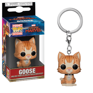Marvel Captain Marvel - Goose il Gatto Pop! Portachiavi