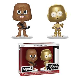 Figura Funko Vynl. - Chewbacca y C-3PO - Star Wars