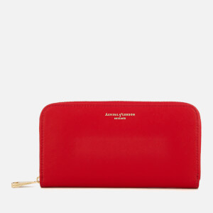 Aspinal of London Women's Continental Clutch Wallet - Scarlet