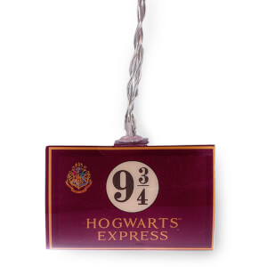 Harry Potter Hogwarts Express 9 3/4 2D String Lights