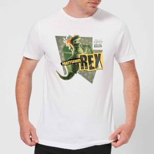 Toy Story Partysaurus Rex Men's T-Shirt - White