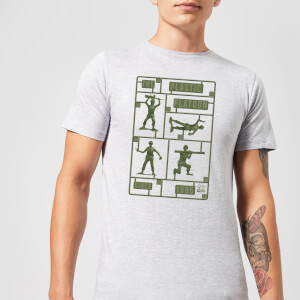Toy Story Plastic Platoon Men's T-Shirt - Grey