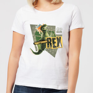 Toy Story Partysaurus Rex Women's T-Shirt - White