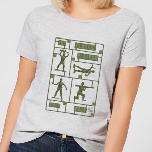 Toy Story Plastic Platoon Damen T-Shirt - Grau