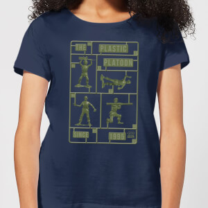 Toy Story Plastic Platoon Women's T-Shirt - Navy