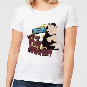 Toy Story Evil Oinker Women's T-Shirt - White