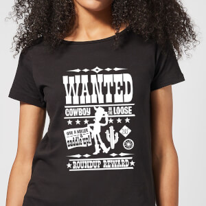 Toy Story Wanted Poster Women's T-Shirt - Black