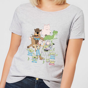 Toy Story Group Shot Damen T-Shirt - Grau