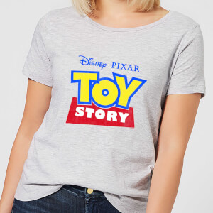 T-Shirt Femme Logo Toy Story - Gris