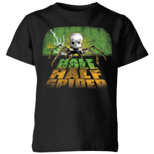 Toy Story Half Doll Half Spider Kids' T-Shirt - Black