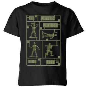 T-Shirt Enfant Soldats en Plastique Toy Story - Noir