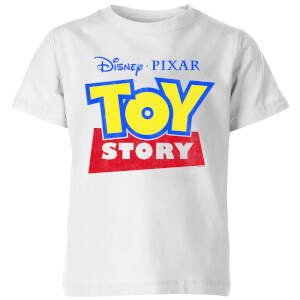 Toy Story Logo Kinder T-Shirt - Weiß