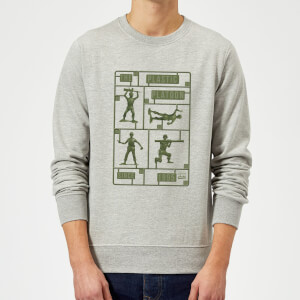 Sweat Homme Soldats en Plastique Toy Story - Gris