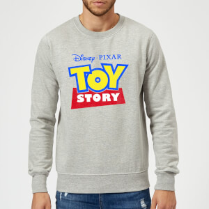 Toy Story Logo Sweatshirt - Grey