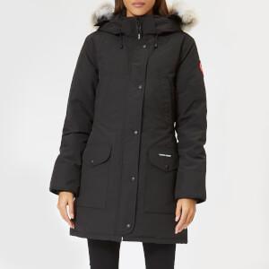 Canada Goose Women's Trillium Parka Jacket HD - Black