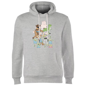 Toy Story Group Shot Hoodie - Grey