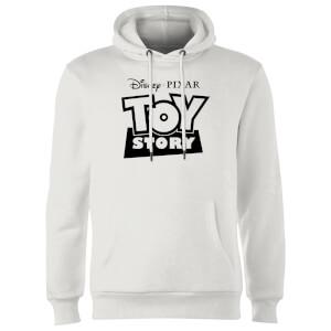 Sweat à Capuche Homme Contour du Logo Toy Story - Blanc