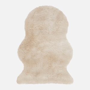 in homeware Auckland Faux Sheepskin Rug - Honey