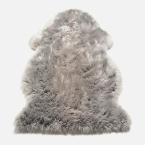 in homeware Auckland Sheepskin Rug - Silver