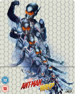 Ant-Man and the Wasp - 3D (Inkl. 2D Version) Zavvi UK Exklusives Steelbook