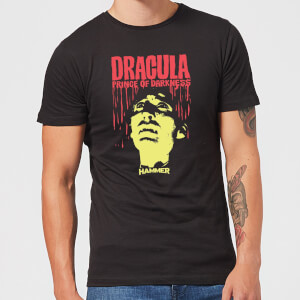 T-Shirt Hammer Horror Dracula Prince Of Darkness - Nero - Uomo