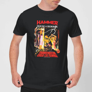 Hammer Horror Frankenstein Crea La Femme Men's T-Shirt - Black