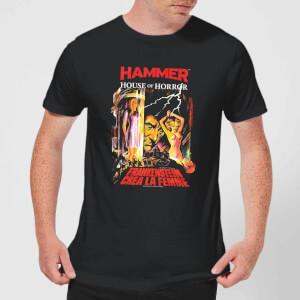 T-Shirt Homme Frankenstein Créa La Femme - Noir
