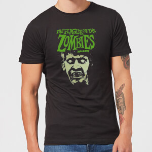 Hammer Horror Plague Of The Zombies Portrait Men's T-Shirt - Black