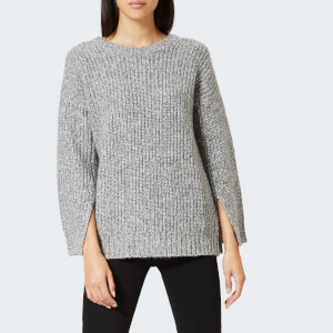 MICHAEL MICHAEL KORS Women's Split Sleeve Crew Neck Sweatshirt - Derby Heather