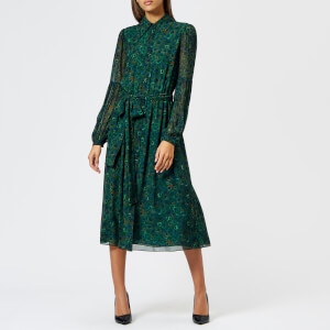 MICHAEL MICHAEL KORS Women's Midi Shirt Dress - Joule Green