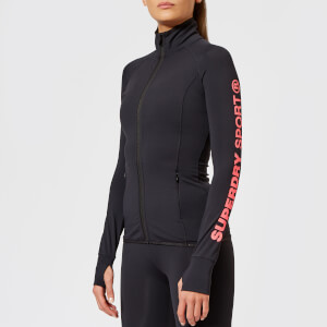 Superdry Sport Women's Core Track Jacket - Black