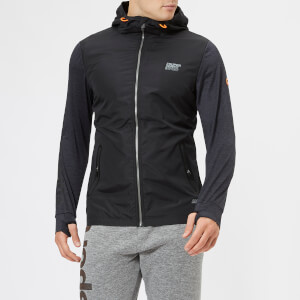Superdry Sport Men's Active Reflective Hybrid Jacket - Black
