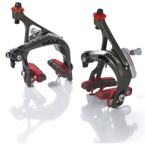 Miche Supertype RS Brakes Pair - Black/Red
