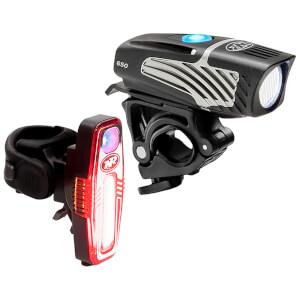Niterider Lumina Micro 650 Front and Sabre 80 Rear Light Set