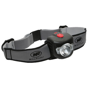 Niterider Adventure Pro 320 Headlamp (Helmet Stick-On Pivot Mount)