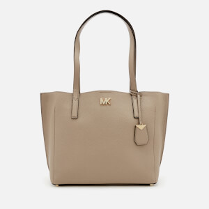 MICHAEL MICHAEL KORS Women's Ana Medium East West Bonded Tote Bag - Truffle