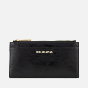 MICHAEL MICHAEL KORS Women's Money Pieces Large Slim Card Case - Black