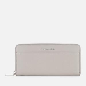 MICHAEL MICHAEL KORS Women's Money Pieces Pocket Continental Wallet - Pearl Grey