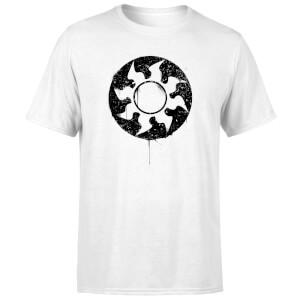 Magic The Gathering White Mana Splatter Men's T-Shirt - White