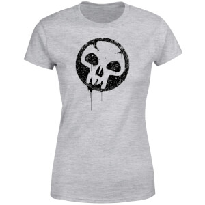 T-Shirt Femme Mana Noir - Magic : The Gathering - Gris