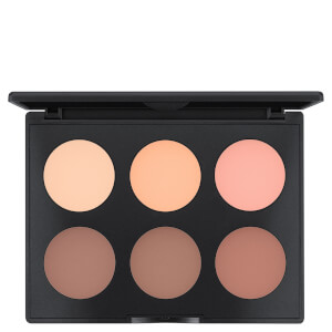 MAC Studio Fix Sculpt and Shape palette contouring - Light Medium